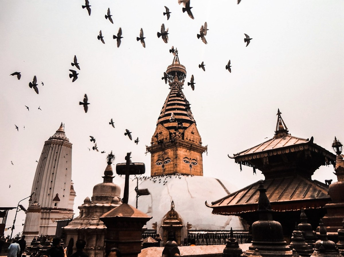 The day I landed in Kathmandu with 12 dollars in mypocket!